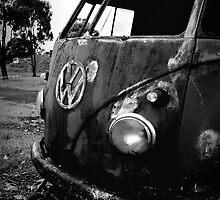 rust bus by Jake Harvey