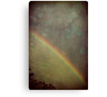 Ribbon of Rain Canvas Print