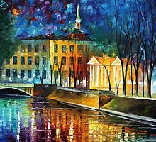 Winter Vibrations — Buy Now Link - www.etsy.com/listing/179082485 by Leonid  Afremov