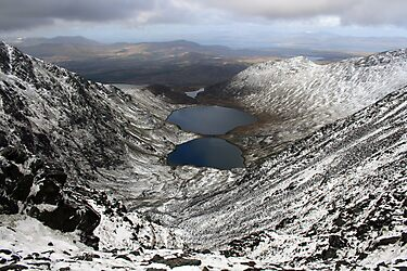 Winter view from Carruntoohil by John Quinn