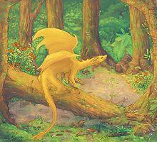 Forest dragon by Astyrra