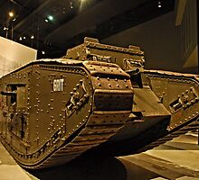Tank - War Memorial  - Canberra by GailD