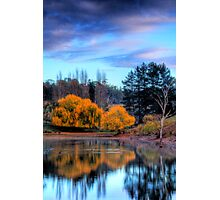 Autumn colours and reflections, Adelaide Hills Photographic Print