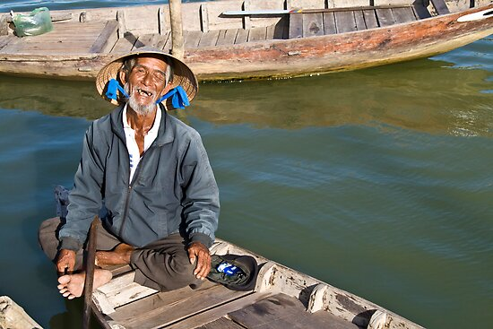 Old Man River (Hoi An, Viet Nam) by Matthew Stewart