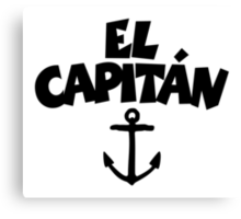 El Capitán Anchor Canvas Print