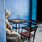 Solitary Chess Player by eyeshoot