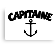 Capitaine Ancre Canvas Print