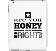 Honey Dicking w/ Star iPad Case/Skin
