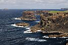 Cliffs of Esha Ness by Richard Ion