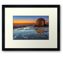 The Pump House - Newcastle NSW Australia Framed Print