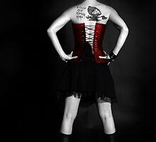 Dark Fairy Tales - Little Red Riding Hood by Adara Rosalie