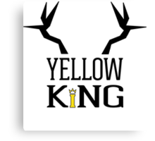 The Yellow King Canvas Print