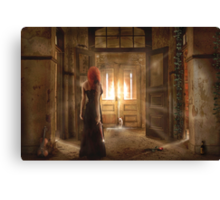 Ghost of  the Cat House Canvas Print