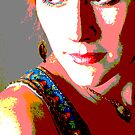 Pop Art Portrait by Jean Hildebrant