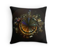 Planet Melbourne Throw Pillow