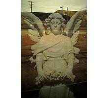 desert angel.....my lady of the slag heap Photographic Print