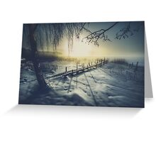 Winter you winter me Greeting Card