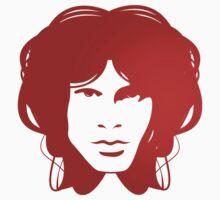 Jim Morrison (red) by Brad Sharp