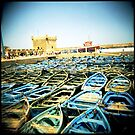 The Classic Essaouira Boat Shot by eyeshoot
