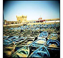 The Classic Essaouira Boat Shot Photographic Print
