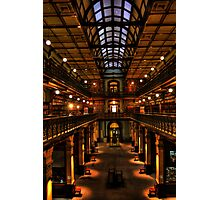 Mortlock Library HDR Photographic Print