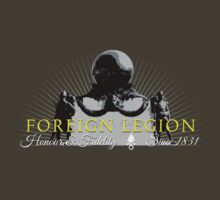 Foreign Legion - War memorial - Monument aux morts T-Shirt