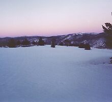 """First Light"" - Dawn at Australia's Highest Township (Cabramurra) by eucumbene"