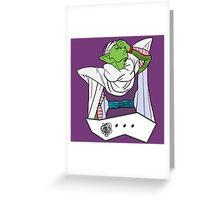Piccolo Facepalm - Dragon Ball Z Greeting Card