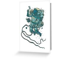 Peace In Space  Greeting Card