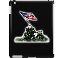 American War Flag, USA, Raising the Colours, Iwo Jima, America, WW2, WWII iPad Case/Skin