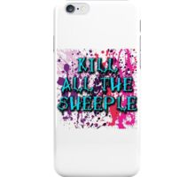 KILL THE SHEEPLE - Ladie's Design iPhone Case/Skin