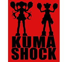 Kuma Shock Photographic Print