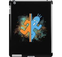 t-shirt pampa - t-shirt cactuar - portal - final fantasy - space  test room - test chamber iPad Case/Skin