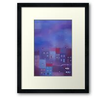 Devon Evening Framed Print