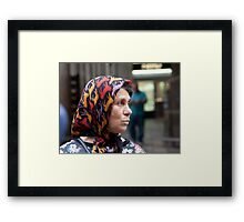 Catalan Woman Framed Print
