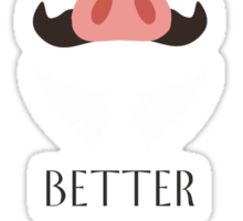 Porco's Wisdom Sticker