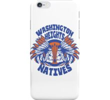 Washington Heights Natives (BLUE/ORANGE) iPhone Case/Skin