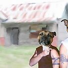 The Dog Series - Suburban Dogs by Casey Herman