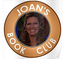 Joan Callamezzo's book club. Poster