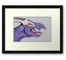 Shadow Lugia Framed Print