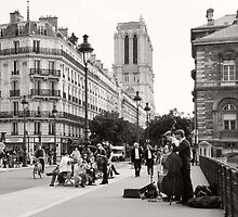 Parisian Buskers by Serina Patterson