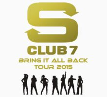 S Club 7 Bring It All Back Tour 2015 Kids Clothes