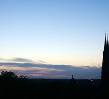 White nights panorama by bluecoomassie