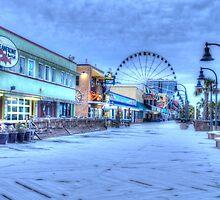 Frozen Boardwalk by Jamie317