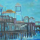 Oceanside Pier, California by Teresa Dominici