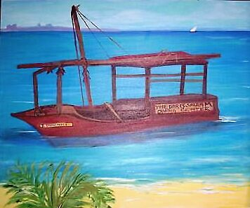 African diving boat by Teresa Dominici