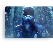 Mortal Kombat - Sub-Zero Metal Print