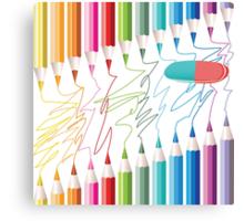 Pencils! SALE!!! Canvas Print