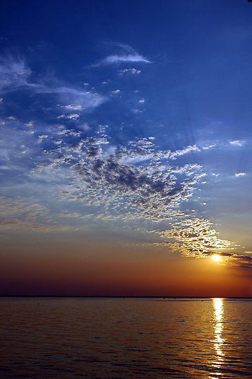 Serenity in the Sunset by Holly Werner