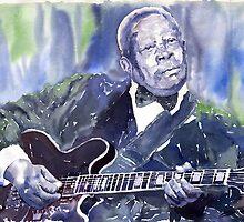 Jazz B B King 01 by Yuriy Shevchuk